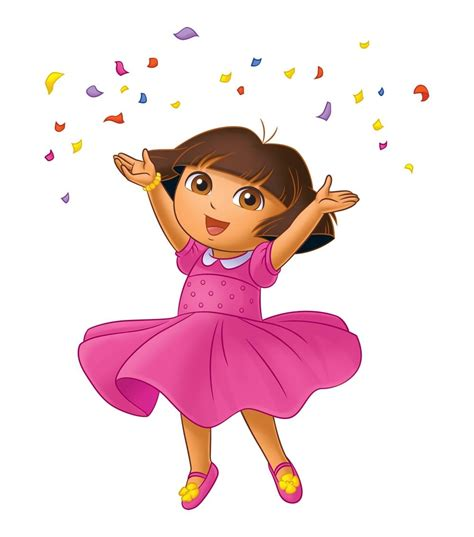 Image   Dora pink dress 2   Dora the Explorer Wiki