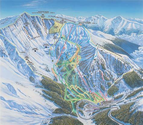 Mammoth Cornice Arapahoe Basin Ski Trail Map 28194 Highway 6 Keystone Co