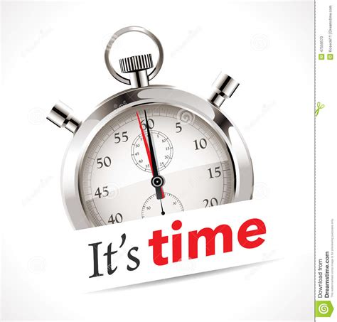 now is the time for dreams books stopwatch the time is now stock vector image 47559570