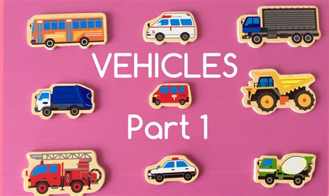 Different Car Types Uk by Learning Different Types Of Special Vehicles Names