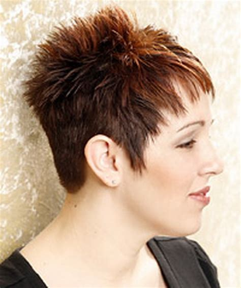 rear views short crops pixie haircut for wavy hair back view short hairstyle 2013