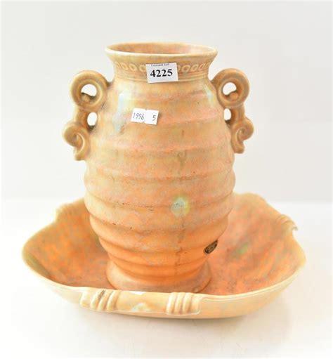 Beswick Vases by A Beswick Vase Tray