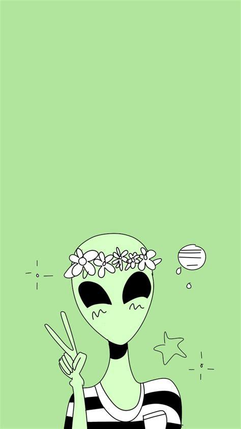 wallpaper cartoon alien alien wallpaper tumblr pinteres