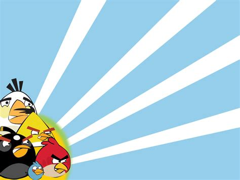 Wallborder Motif Angry Bird angry birds backgrounds presnetation ppt backgrounds templates