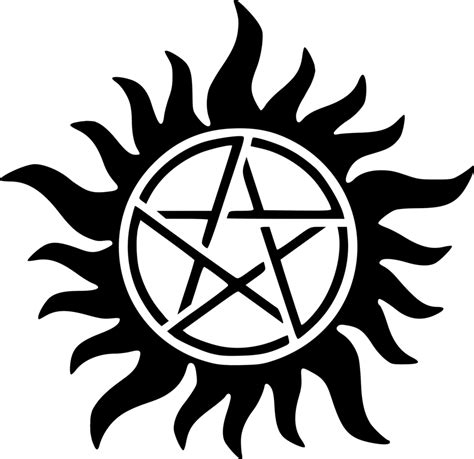 supernatural anti possession symbol by scoomus on deviantart