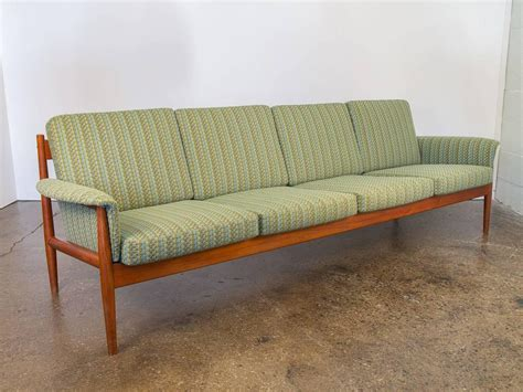 grete jalk sofa teak grete jalk sofa for france and son for sale at 1stdibs
