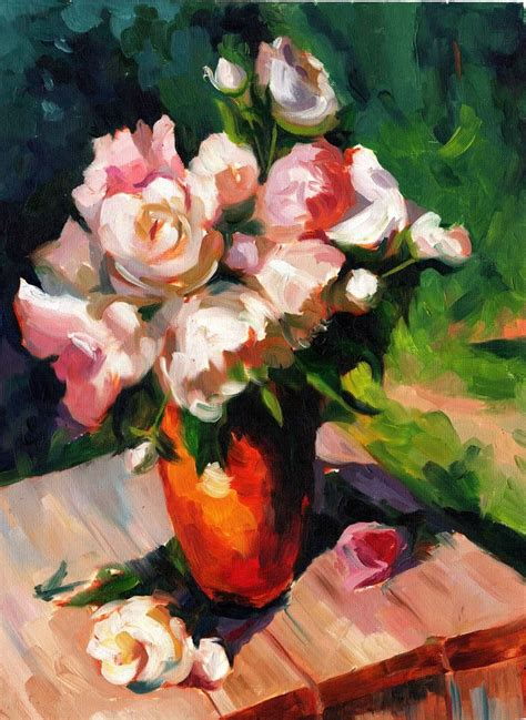 Flowers In A Vase Paintings by 37 Best Flower Arrangements Images On