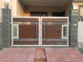 modern gate design for house modern house boundary wall main gate design ideas minimalisthouse co