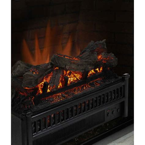Crackling Electric Fireplace by Electric Fireplace Logs Insert Crackling Heater With