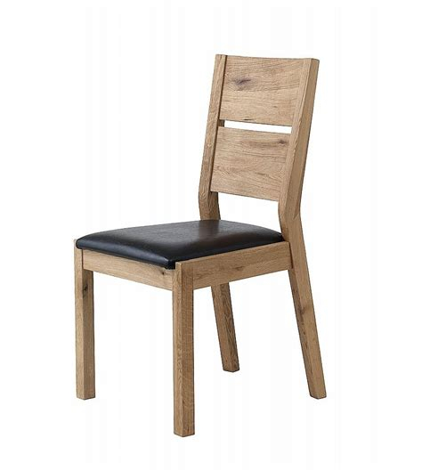 unique florence dining chair with leather seat