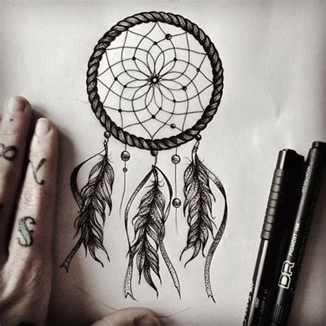 design of dream catcher dreamcatcher tattoo design drawing