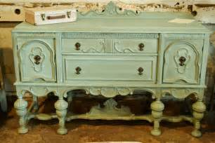 Annie Sloan Painted Sideboard Chalk Painted Annie Sloan Antique Sideboard Buffet By