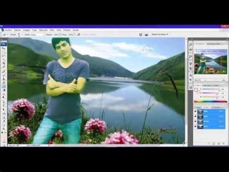 como crear foto montaje de luto como hacer fotomontajes con photoshop bien explicado youtube