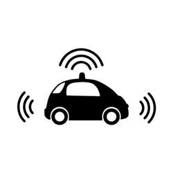 Connected Car Icon Connected And Autonomous Vehicles Burohappold Engineering