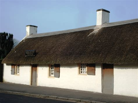 Burns Cottage by Following The Robert Burns Trail In Alloway Scotland