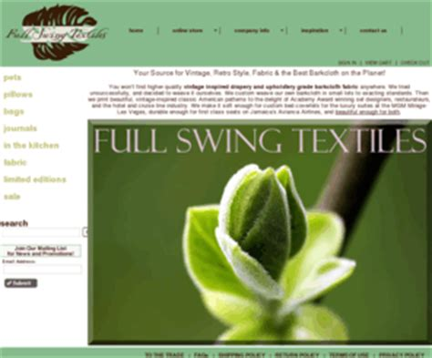 full swing textiles fullswingtextiles com vintage fabric reproduction