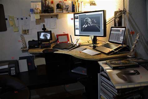 gambar desain yang baik contoh desain ruang kerja minimalis nyaman dan ergonomis