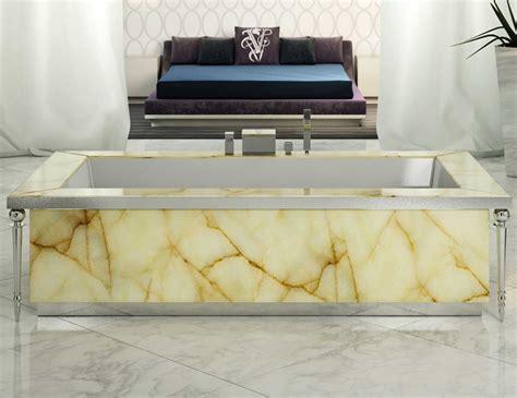onyx bathtub visionnaire portorose high end italian bathtub in honey