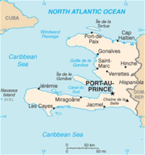 haiti map of cities map edit