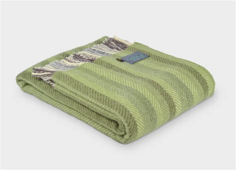 soft green the british blanket co throws and blankets all colours