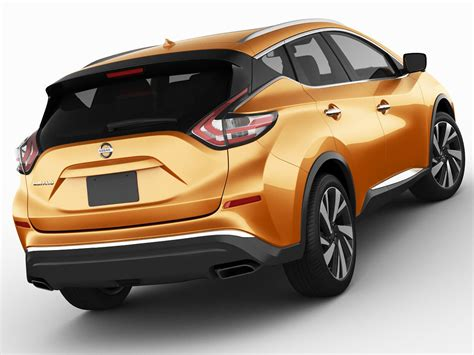 Nissan Murano 2015 3d Model Max Obj 3ds Fbx C4d Lwo Lw Lws