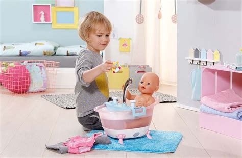 zapf baby born bathtub banheira para bonecas zapf creation 822258 baby born interactive