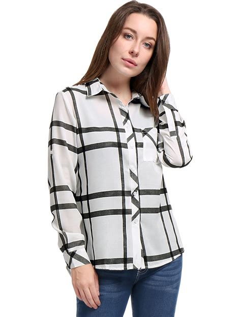 Sleeve Buttoned T Shirt allegra k roll up sleeves buttoned printed