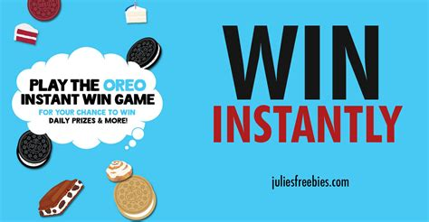 Oreo Sweepstakes 2017 - oreo sweepstakes and instant win game julie s freebies