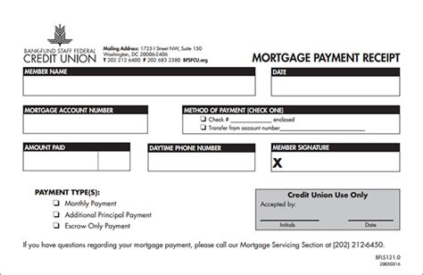 mortgage payment receipt template mortgage payment receipt form sle forms