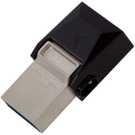 Kingston Datatraveler Microduo Usb 20 Micro Usb Otg 32gb Dtduo32 kingston data traveler micro duo 3 0 usb otg 32gb price in pakistan vmart pk