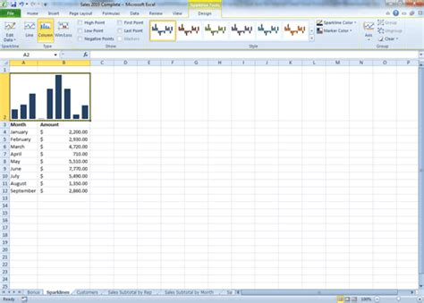 excel tutorial 2010 online comma training page 180