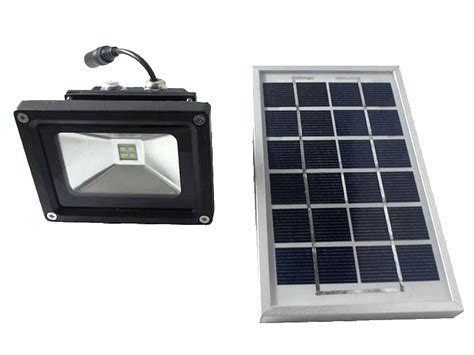 Solar Panel Flood Lights Flood Light Rechargeable With Solar Panel 5w Cursonline