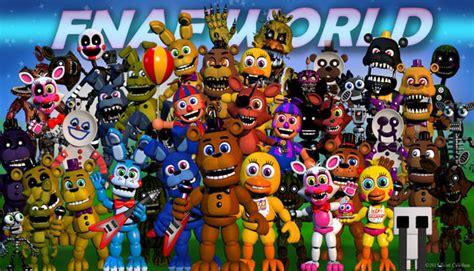 Fnaf world v 2 fnaf game com