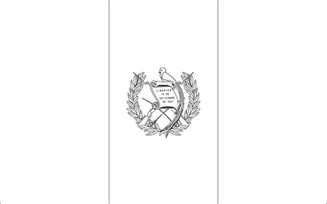 World Flags Coloring Pages 3 Guatemala Flag Colouring Pages Page 2