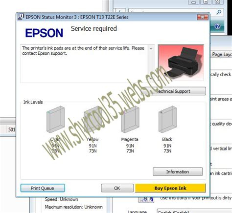 resetter epson t13 t22e series we are the sol uti on