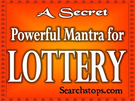 Free Money Spells To Win Lottery - lottery mantra goddess lakshmi mantra for winning