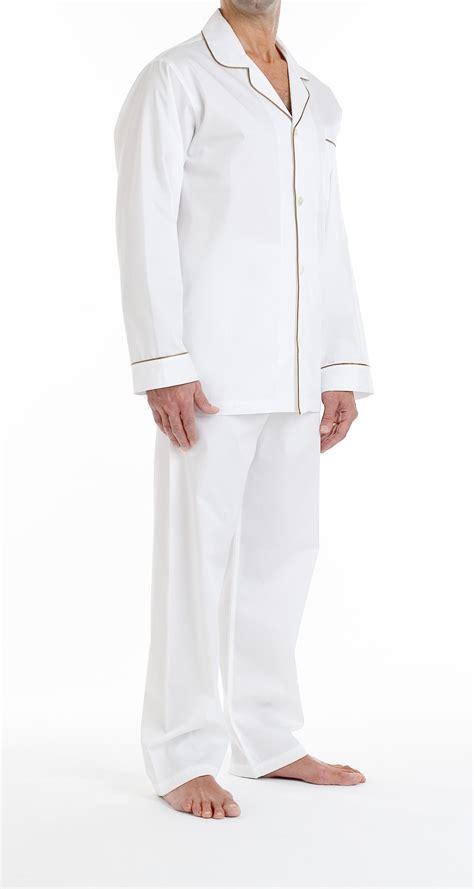 Pajama Quality 08 mens white pajamas clothing