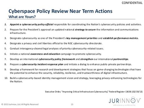 cyber security policy template cybersecurity protecting firms vanderburg jurinnov