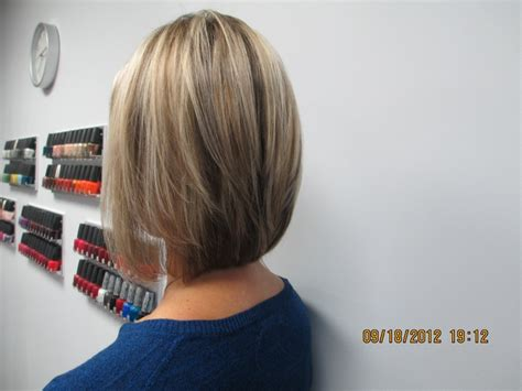 how to cut invisible layers shari s hair is extremely fine i cut it in a blunt bob
