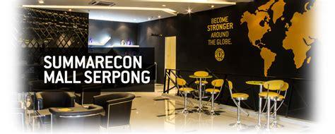 erafone summarecon mall serpong club gold s gym indonesia
