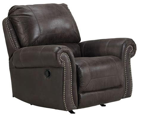 breville charcoal rocker recliner 8000425 furniture