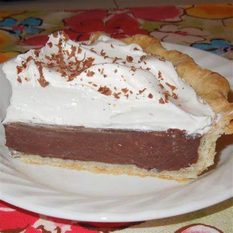 best chocolate pie recipe chocolate pie ii photos allrecipes