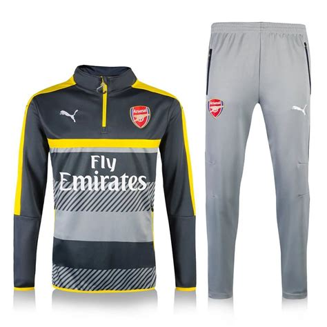 arsenal  track suit football tracksuits sports