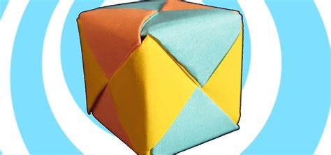 Origami Cube 6 Pieces - how to make modular origami sonobe cube 6 units 171 origami