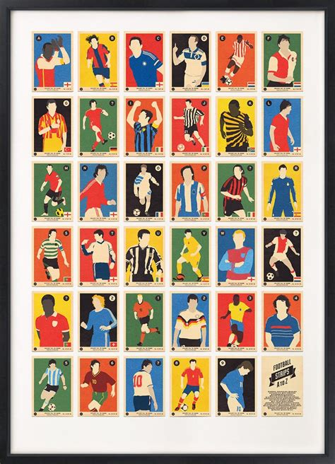 Football Team With Letter Z football strips a to z alphabet print 67 inc