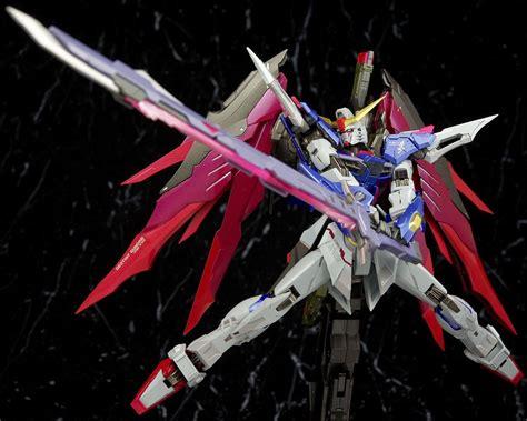 1100 Destiny Gundam Bandai gundam metal build 1 100 destiny gundam review by
