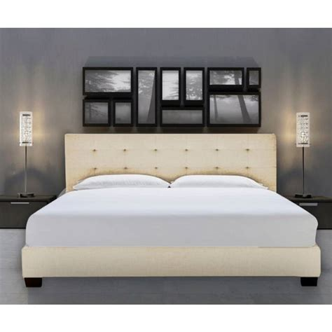 beige bed frame size fabric bed frame in beige white buy