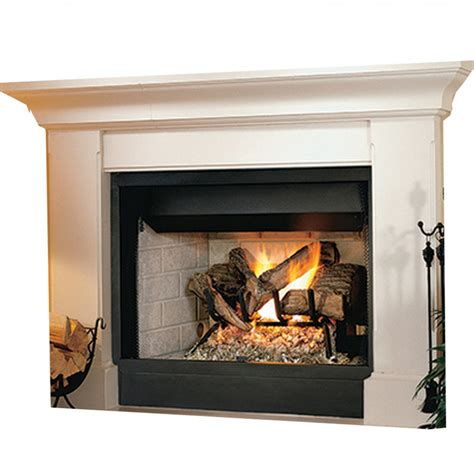 B Vent Fireplace by Ihp Superior Brt2532ten 32 Quot Ng Fireplace Whte Stkd Hrth