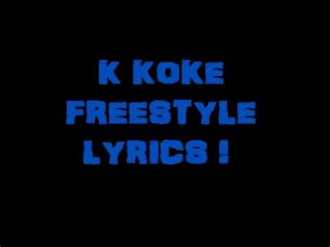 film it k koke lyrics k koke freestyle lyrics youtube