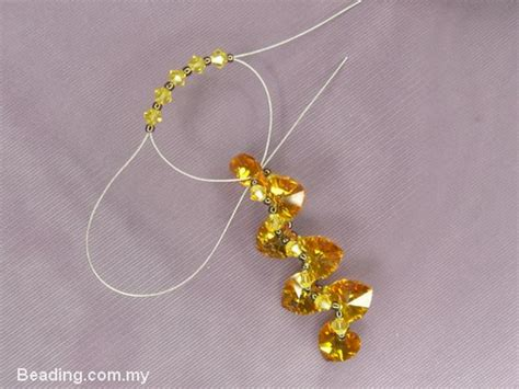 free tutorial 7 pcs swarovski pendants